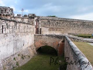paysages du Mexique Campeche Yucatan fort blog voyage photo