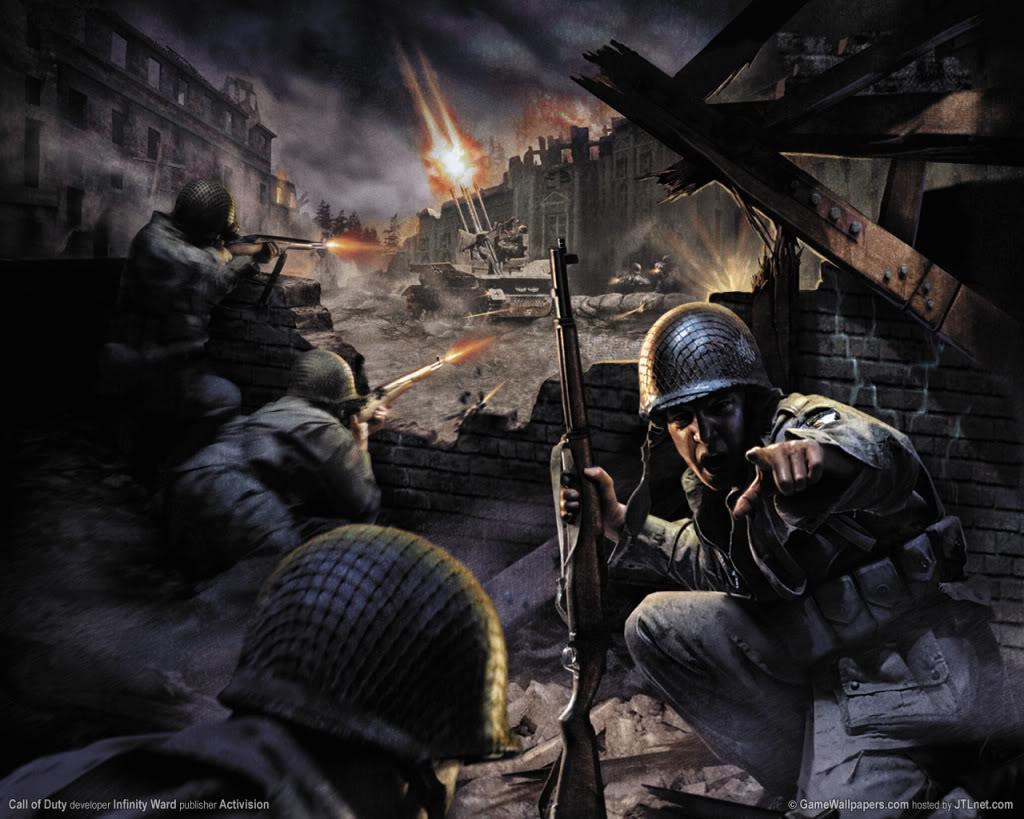 Call Of Duty World At War Game Wallpaper