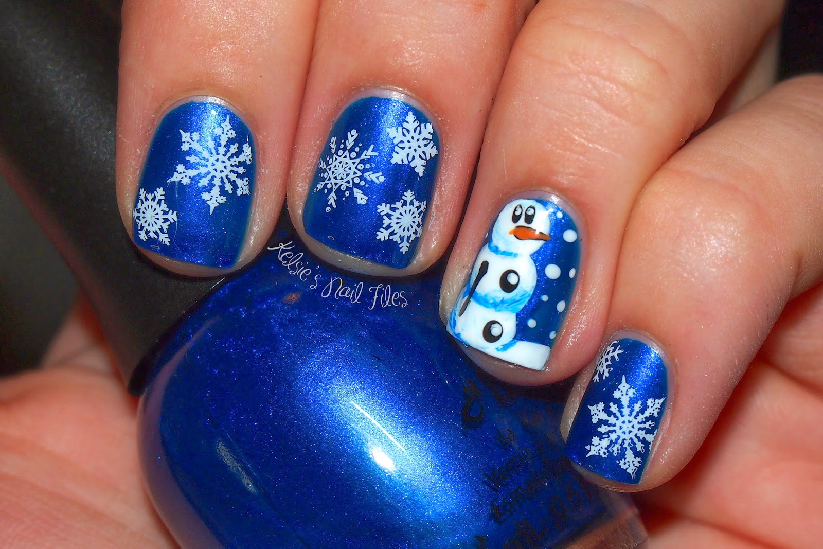 Kelsies nail files 12 days of christmas nail art challenge snow 12 days of christmas nail art challenge snow bps product review prinsesfo Images