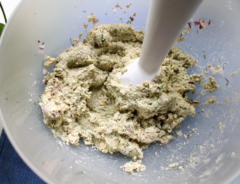 Oppskrift Karrikaker Tofukaker Veganske Burgere Tofu Bønner Smørbønner Dill