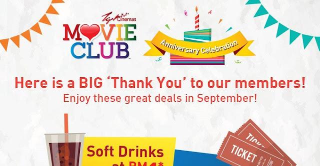 TGV movieclub anniversary banner