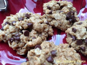 Whole Grain Oatmeal Chocolate Chip Cookies - Kim's Welcoming Kitchen