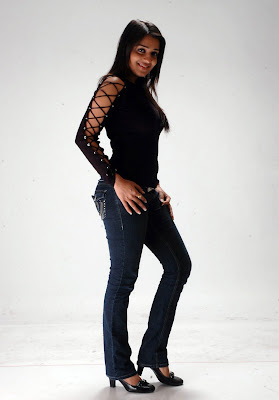 Nikitha Hot in Black Jeans Photos