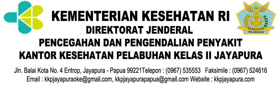 KANTOR KESEHATAN PELABUHAN KELAS II JAYAPURA