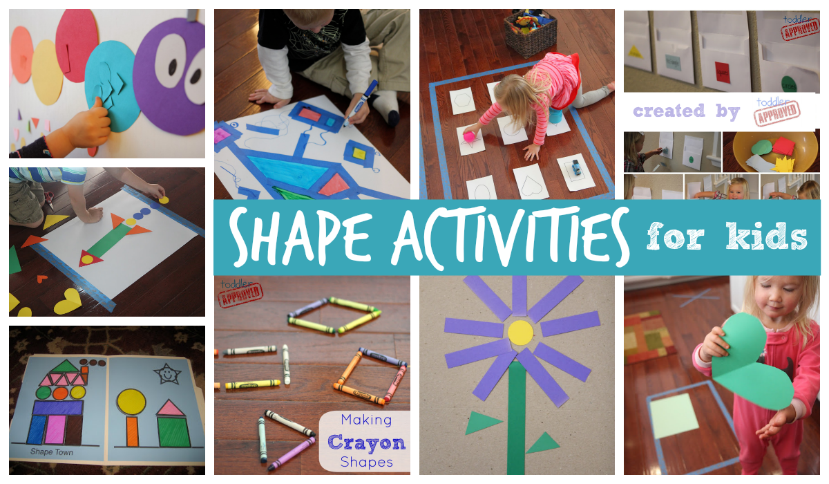 Worksheet Shapes Activities For Preschoolers toddler approved 25 shape activities and crafts for kids if you click on each ling below youll be taken to a full tutorial activity which in most cases will also include much larger phot