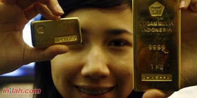 Emas COMEX Jatuh Tertekan Penguatan Dolar AS