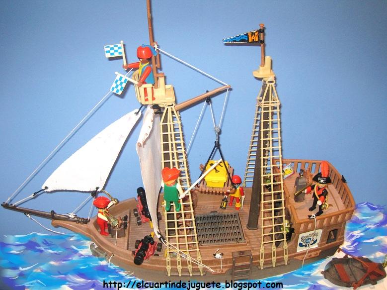 El cuartin de juguete barco pirata de famobil for Barco pirata playmobil