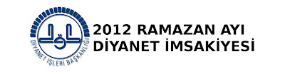 2012 ramazan imsakiyesi