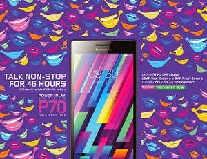 Buy Lenovo P70 Moblie at Rs. 12561 After cashback only at Paytm (5 inch, 4000 Mah , Octa Core, 13 Mp Camera)