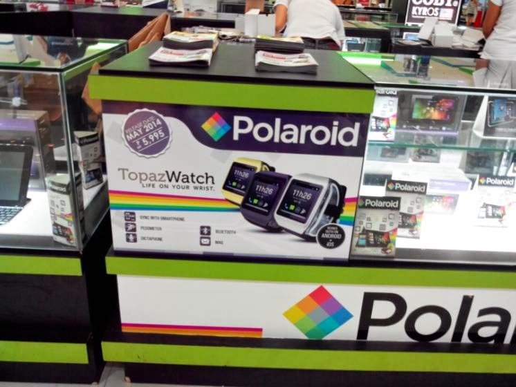 Polaroid Topaz Smartwatch Available Starting Tomorrow For Php5,995