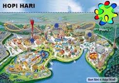 Mapa di Hopi Hari