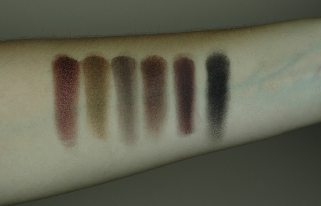 Sleek Au Naturel Lidschatten Palette Swatches 2. Reihe