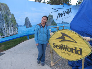 SeaWorld San Diego Manta