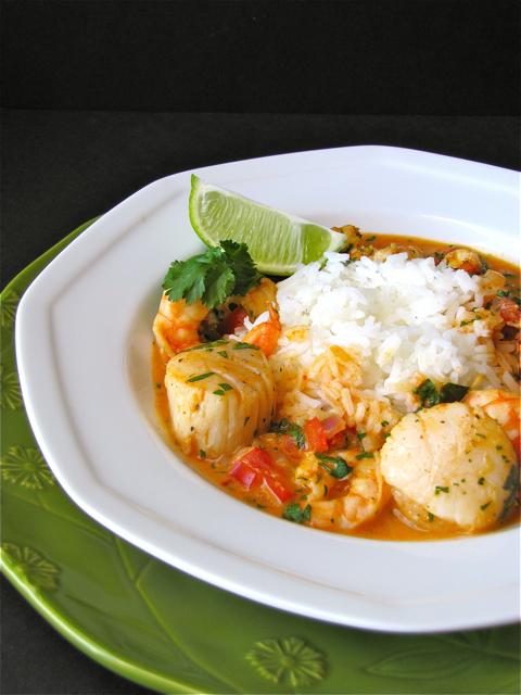 Susi's Kochen Und Backen Adventures: Thai Shrimp-Scallop Curry