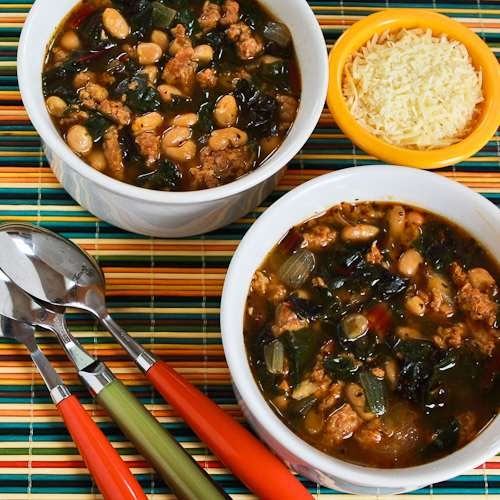 Kalyn's Kitchen®: Italian Sausage and Bean Soup Recipe ...