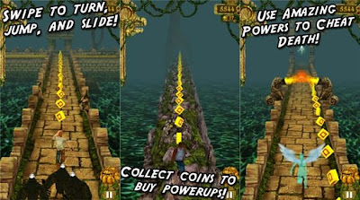 Temple Run Game Free Download For Nokia Lumia 500, 501, 502, 505, 510