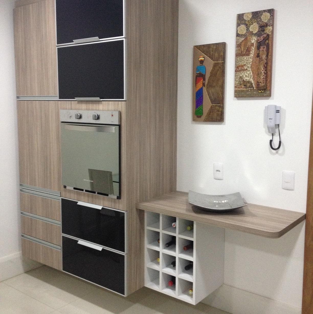 Belenetto Marcenaria Personalizada: Cozinha Marcelo Linheiro  #246583 1224 1231