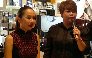 Shiseido Makeup Class, Beauty Party, Metro Paragon Singapore