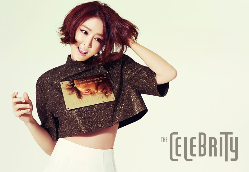 Kang Ye Won - The Celebrity Magazine February Issue 2014