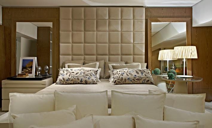 decoracao de interiores quartos casal:Madeira casa perfeitamente nos quartos neutros. Símbolo de conforto
