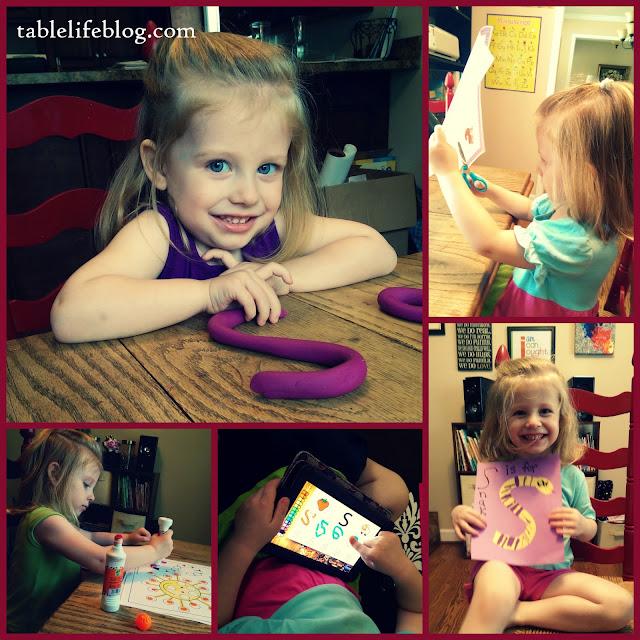 letter of the week s preschool homeschool