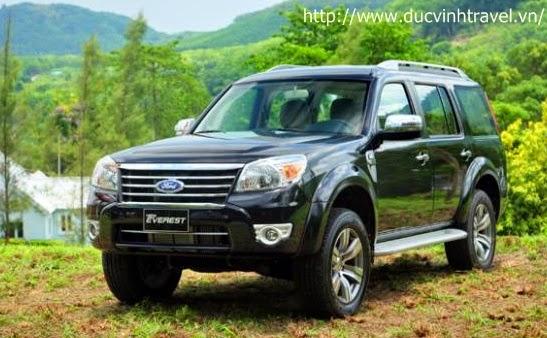 Cho thuê xe 7 chỗ Ford Everest dài hạn 1