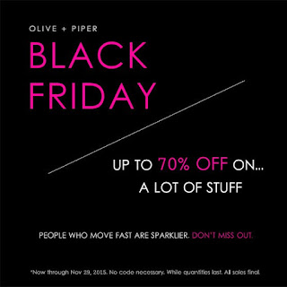 olive + piper black friday