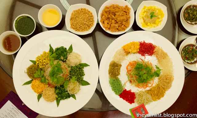 Chynna Restaurant, Hilton Hotel, Kuala Lumpur, Chinese New Year, Authentic Chinese food, Yee Sang, healthy wholesome food, set menus, celebration