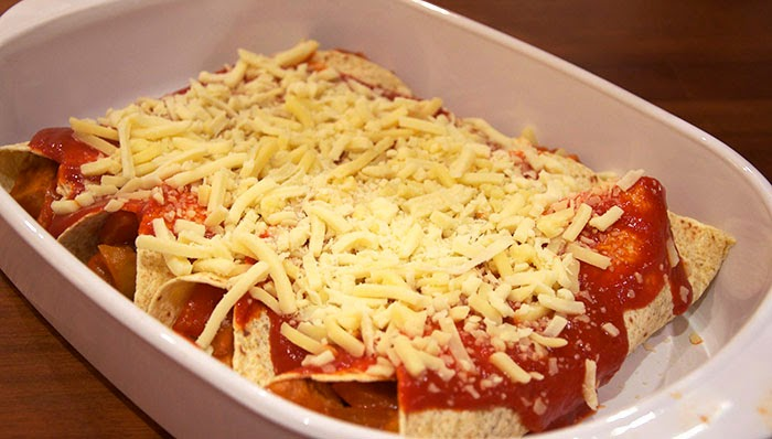 Mexican Party Enchilada
