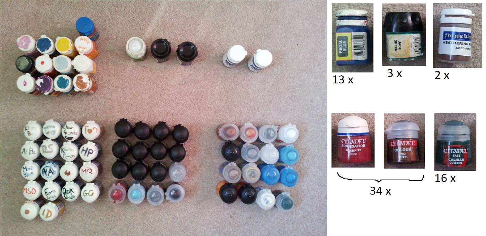 Best Dropper Bottles For Citadel Paints