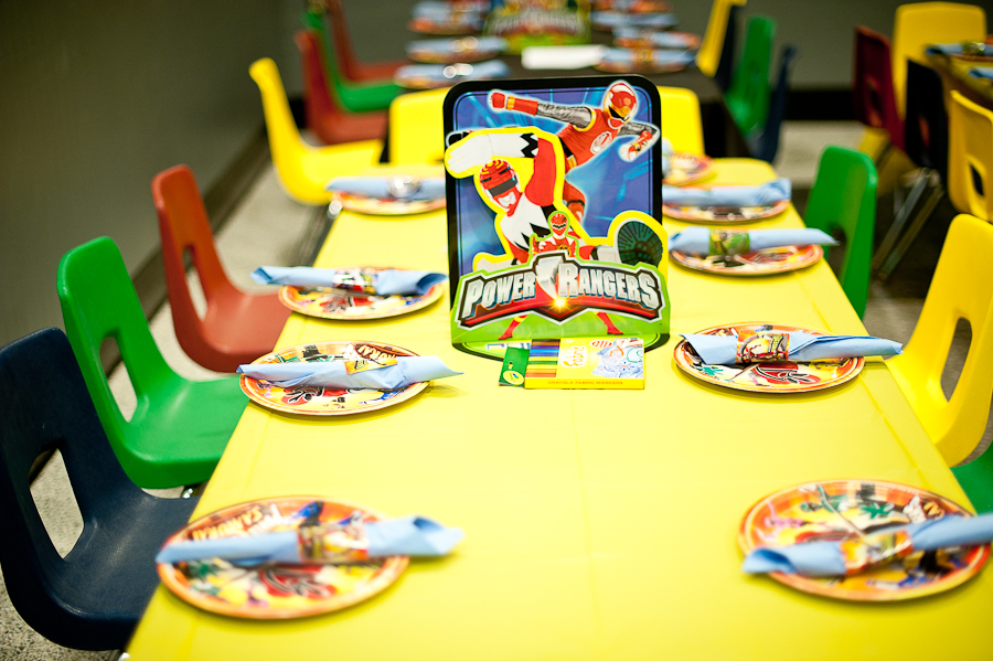 Power Rangers Birthday Party Ideas, Power Rangers Birthday Party ...
