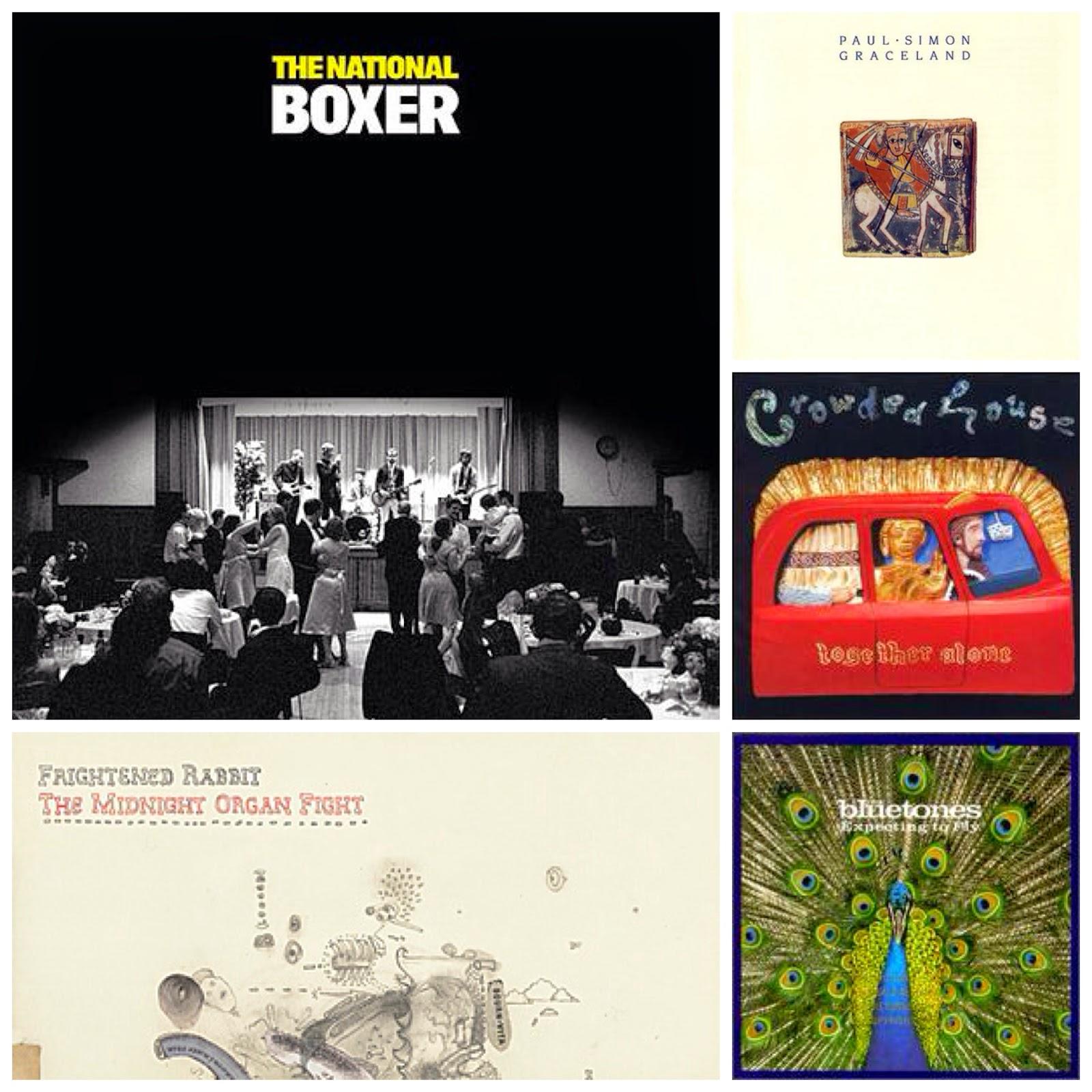 five favourite albums