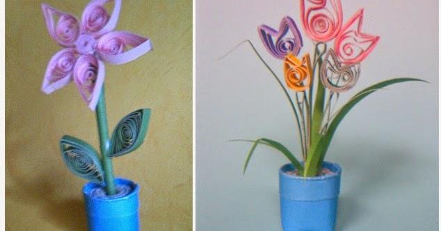 Nove Hasanah Cara Membuat Bunga Dari Kertas Bekas