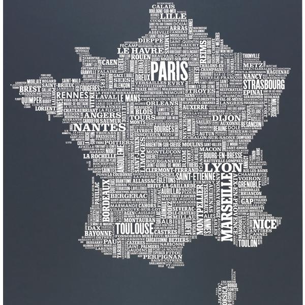 Франция в названиях городов
