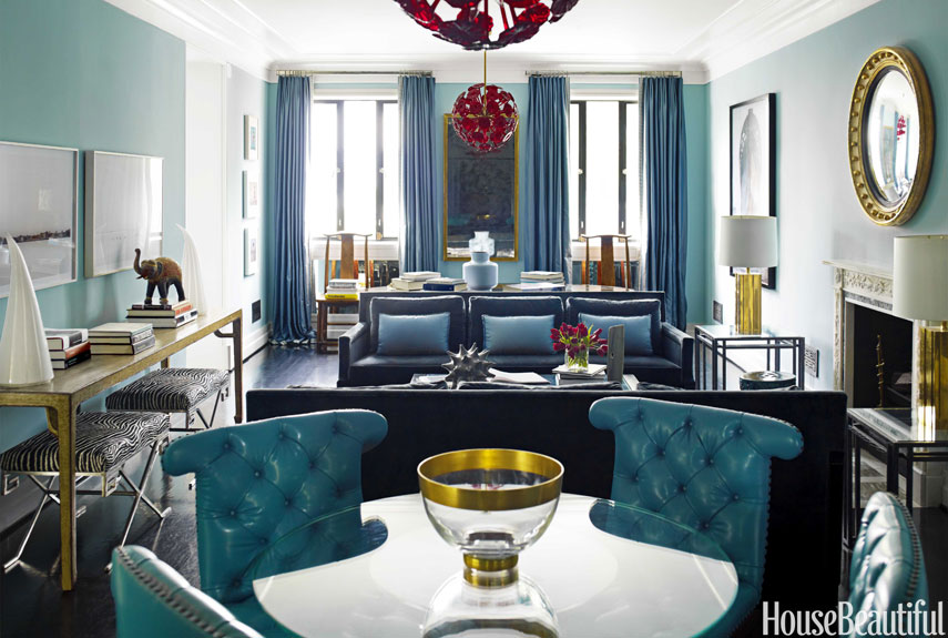 Interior Design By Hilllary Thomas And Jeff Lincoln, Photography Eric  Piasecki // Via House Beautiful