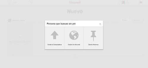 Pinterest añadir pin