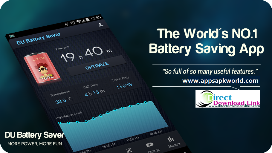 DU Battery Saver PRO & Widgets v3.9.8 Apk