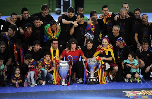 Barcelona's four trophy-laden years to be imortalised on an upcoming movie
