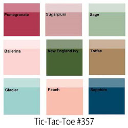 """CLICK HERE for Color Dare Challenge #357 """"TicTacToe - CLOSES Sept 5th"""