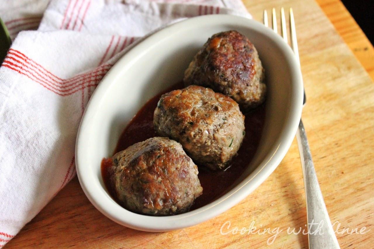 Anne's Italian Meatballs