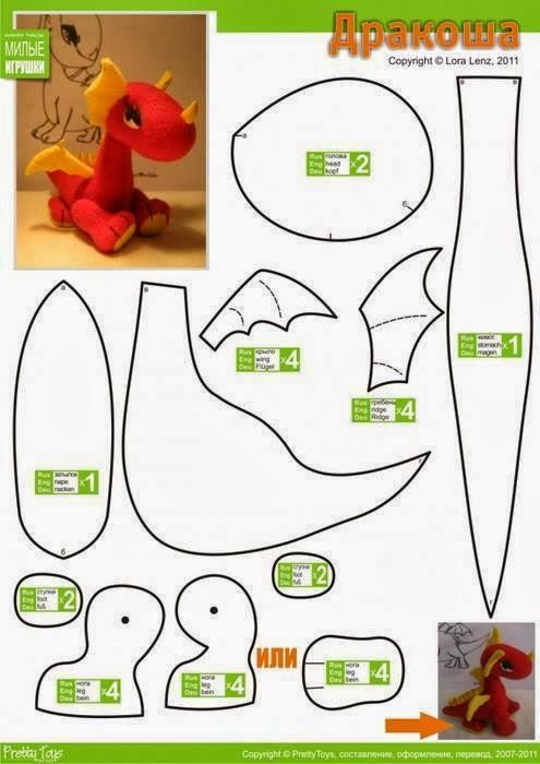 patrones de animales de tela | facilisimo.com