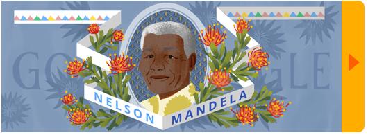 Doodle Nelson Mandela
