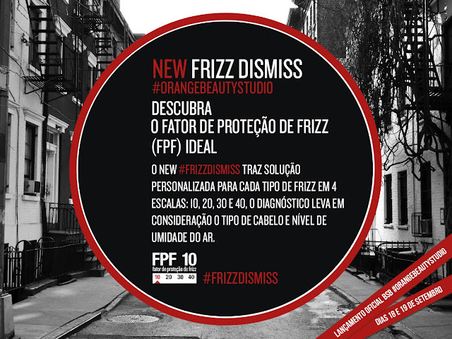 #FRIZZDISMISS Redken no Salão Orange Beauty
