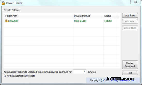 how to make private folders on windows 8