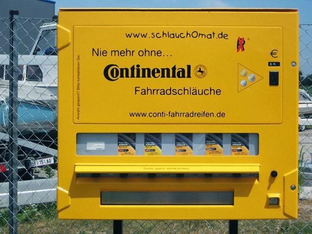 Máquinas expendedoras de productos extraños