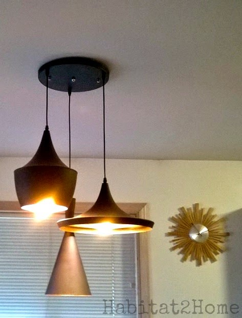 Dining Room Light Upgrade