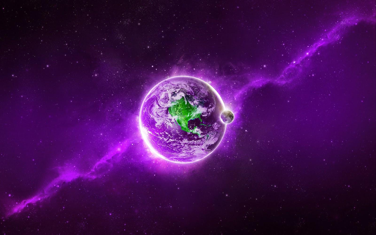 purple hd desktop wallpapers widescreen - photo #10