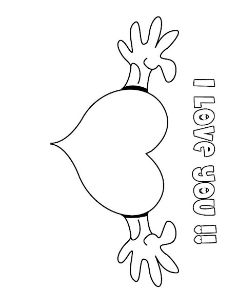 I Love You Aunt Coloring Pages