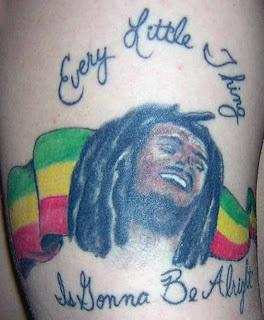Desenhos de Tatuagens do Reggae
