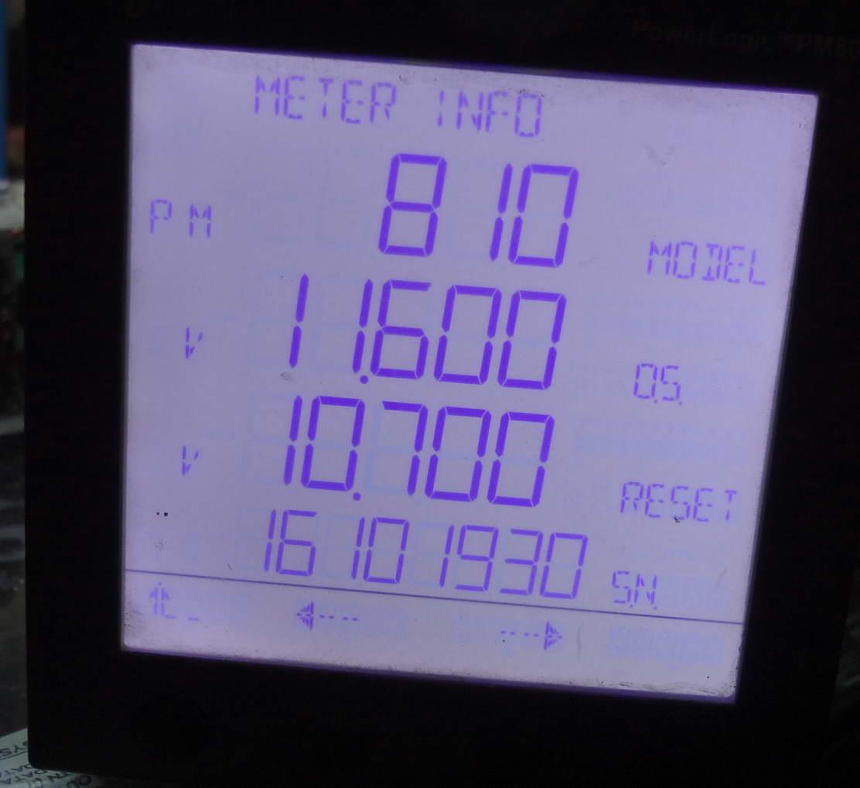 Powerlogic Energy Meter : Schneider powerlogic pm mg meter ebay